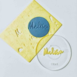 Paku Malzeme - Calligraphy Stamp Alfabe KUKI