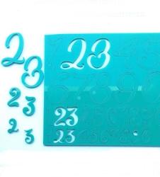 Paku Malzeme - Calligraphy Stamp Rakamlar NUMBERS