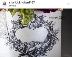 Paku Malzeme - Mesh Stencil; Baroque Frame-1 (1)