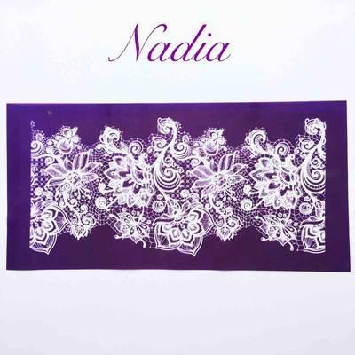 Mesh Stencil; Nadia
