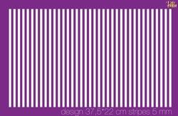 Paku Malzeme - Mesh Stencil; Vertical Stripes 5 mm