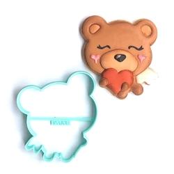 Paku Malzeme - Plastik kalıp Aşık Ayıcık; 9 cm