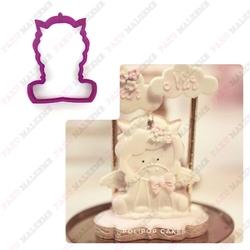 Paku Malzeme - Plastik kalıp Baby Unicorn; 9,0*6,7 cm
