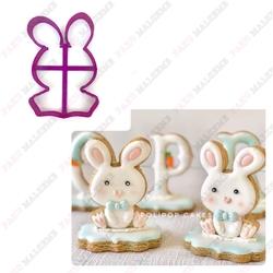 Paku Malzeme - Plastik kalıp Bunny-2; 9,0*6,5 cm