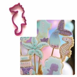 Paku Malzeme - Plastik kalıp Cute Seahorse Denizatı; 9*4,4 cm
