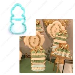 Paku Malzeme - Plastik kalıp Parisian Macaron; 10,5*5 cm