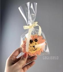 Paku Malzeme - Plastik Kalıp Sevimli Aslan; 8,5*7,6 cm (1)