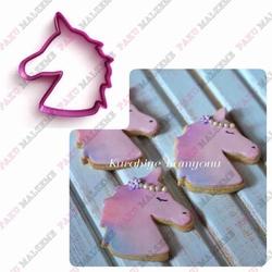 Paku Malzeme - Plastik Kalıp Unicorn; 8*7,2 cm