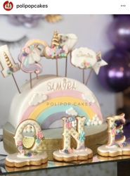 Paku Malzeme - Plastik kalıp Unicorn Boynuz; 8,4*7,5 cm (1)