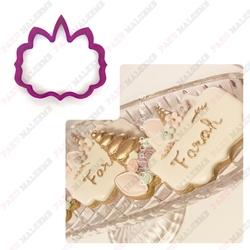 Paku Malzeme - Plastik kalıp Unicorn Plaka; 8,8*8,3 cm