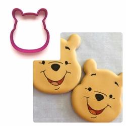 Paku Malzeme - Plastik kalıp Winnie the Pooh; 8,5*7,5 cm