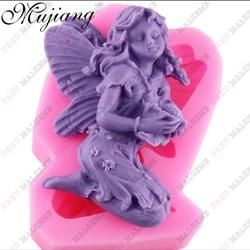 Paku Malzeme - Silikon Dreamy Angels-8; 6,5*5,5 cm
