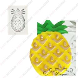 Paku Malzeme - Silikon kalıp Ananas; 6*4 cm