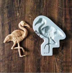 Paku Malzeme - Silikon kalıp Big Flamingo; 12,5*10,6 cm