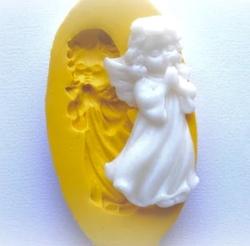 Paku Malzeme - Silikon kalıp Dreamy Angels-10; 6,5*3,3 cm