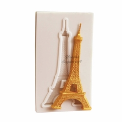 Paku Malzeme - Silikon kalıp Eiffel Kulesi; 6,7*3,3 cm