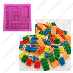 Paku Malzeme - Silikon kalıp Lego; 7*7 cm