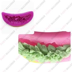 Paku Malzeme - Silikon kalıp Mini Rose Swag; 6,2*2 cm