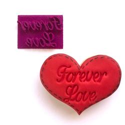 Paku Malzeme - Stamp kaşe Forever Love; 5,3*4,1 cm