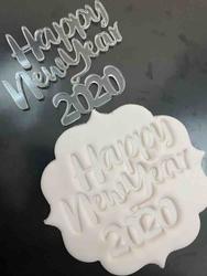Paku Malzeme - Stamp kaşe HAPPY NEW YEAR 2020