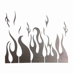 Paku Malzeme - Stencil Alev Flames