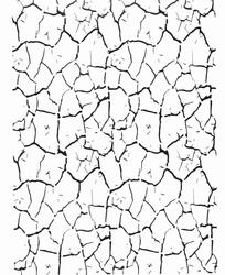 Diğer - Stencil Crackled Çatlatma