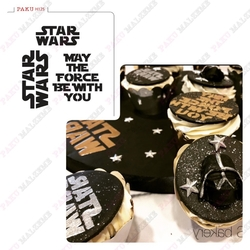 Paku Malzeme - Stencil StarWars May the Force Be with You