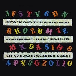FMM - Alphabet cutters Tappit CARNIVAL; 2,2 cm