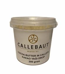 Barry Callebaut - Cocoa Butter Callet Kakao Yağı Drop 200 gram