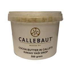 Barry Callebaut - Cocoa Butter Callet Kakao Yağı Drop 500 gram