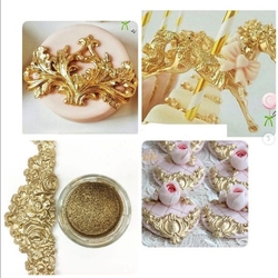 Diğer - Efsane Varak Gold toz boya; 10 gr
