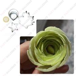 Diğer - Erengül çiçek ve yaprak kesici seti