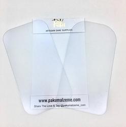 Paku Malzeme - Fondant Smoother set; 15*8 cm (1)