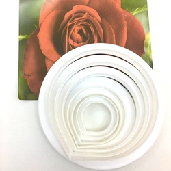 Diğer - Gül plastik kesici seti; 7 parça