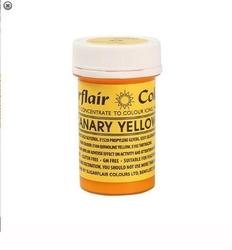 Sugarflair - Jel boya CANARY YELLOW