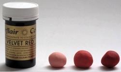 Sugarflair - Jel boya VELVET RED (1)
