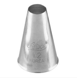 Ateco - Krema sıkma ucu no:12 (8 mm ağız çapı)