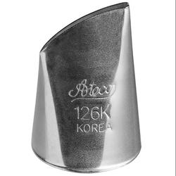 Ateco - Krema sıkma ucu no:126K Kore petal (22 mm ağız çapı) (1)