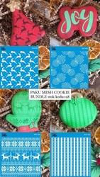 Paku Malzeme - Mesh Stencil Cookie Bundle-198