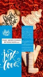 Paku Malzeme - Mesh Stencil Cookie Bundle-203