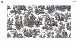 Paku Malzeme - Mesh Stencil Crystal Collection; Waverly Toile (32,5*16 cm)