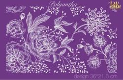 Paku Malzeme - Mesh Stencil; Polyantha