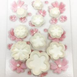Diğer - Mini Blossom plastik kesici seti