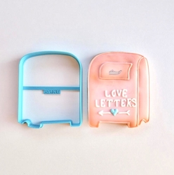 Paku Malzeme - Plastik kalıp Aşk Mektup Postakutusu; 9,0*7,3 cm
