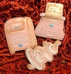 Paku Malzeme - Plastik kalıp Aşk Mektup Postakutusu; 9,0*7,3 cm (1)