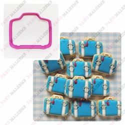 Paku Malzeme - Plastik Kalıp Bavul; 8*6,7 cm