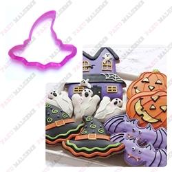 Paku Malzeme - Plastik Kalıp Cadı Şapka; 8,5*7,2 cm