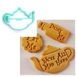 Paku Malzeme - Plastik kalıp Çaydanlık; 10*7,0 cm