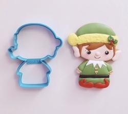 Paku Malzeme - Plastik kalıp ELF Elf cini; 9,0*7,6 cm
