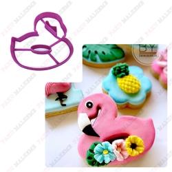 Paku Malzeme - Plastik Kalıp Flamingo-2; 8,5*8,3 cm